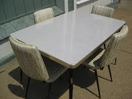 vintage 1950 039 s formica kitchen table w 4 chairs 50 by