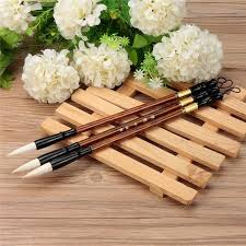 online shop 3pcs set top quality chinese calligraphy brushes pen