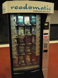 Vending Machine Types Custom The History Of Book Vending Machines Atlantic Vending