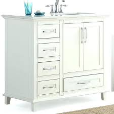bathroom vanity with sink right offset single set small combination 48 s