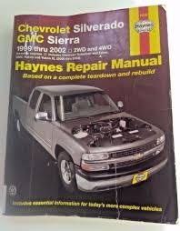 chilton repair manual chevy truck - 100 images - duramax diesel ...