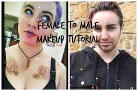 to boy transformation makeup tutorial