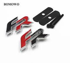 3D Metal Grille FR Sticker Emblem Badge Sticker for Seat Leon FR+ ...