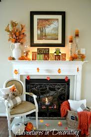 Extraordinary Fireplace Mantel Decorating Ideas For Fall Pictures  Decoration Ideas