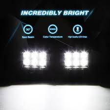 nilight 2pcs 4 inch 18w spot led light bars off road light Nilight Wiring Harness Install nilight 2pcs 4 inch 18w spot led light bars off road light mounting bracket horizontal nilight wiring harness install