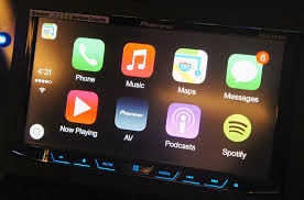 pioneer apple carplay. pioneer is the first aftermarket in-car entertainment manufacturer to offer apple carplay compatibility. carplay