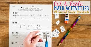 Cut & Paste Math Activities for Every Second Grade Standard
