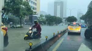說明:臺北市淹水模擬 淹水深度:0.0~0.3 公尺 淹水深度:0.3~1.0 公尺 淹水深度:1.0~3.0 公尺 淹水深度:>3.0 公尺 近五年淹水調查位置(點) 說明 1sgrltvxsyj7am