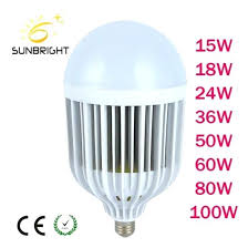 Light Wattage Comparison Chart Bulb Rating China Led Cage