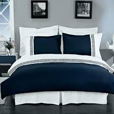 duvet cover white with regard to encourage navy blue and white comforter the most new navy