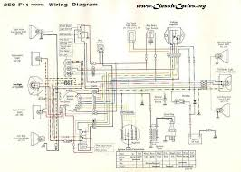 motorcycle manuals kawasaki f11 250 electrical wiring harness diagram schematic