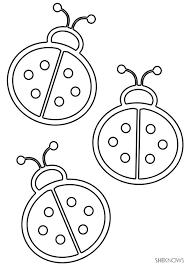 Lady Bug Coloring Sheet Lady Bird Coloring Pages Highfiveholidays Com