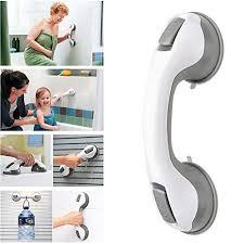 gspor 2pcs bathroom grab rails with strong er portable safety suction grab bar handle for shower toilet diity children and elderly helping tool no