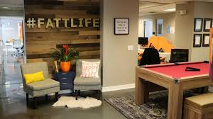 fun office room. Fattmerchant Inc., A Payment Processing Firm, Has Nearly 50 Workers At Its Downtown Fun Office Room