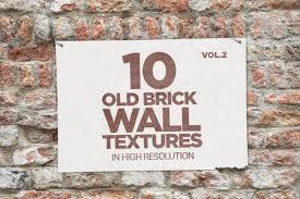 old brick wall textures x10 vol2