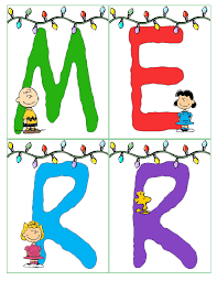 Peanuts Christmas Banner Merry Christmas And Happy New