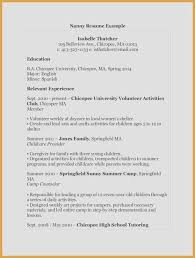 Sample Job Resume Unique Luxury Examples Resumes Ecologist Resume 0d