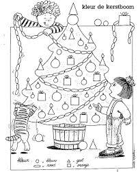 Kerst Kleurplaten Kerstboom