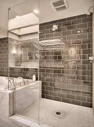 View in gallery Mirror shower tiles