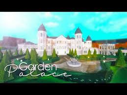 bloxburg garden palace tour 1 7