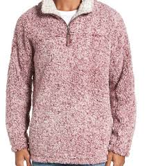 True Grit Frosty Tipped 1 4 Zip Pullover