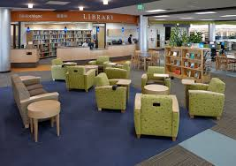 Library seating furniture College Roseville Madison College Library After Photo Interior Solutions Space Planning Design 102 Implementing Your Plan Ideas