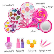 <b>Детский набор для макияжа</b> принцессы, детский косметический ...