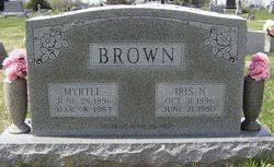 Myrtle Morrison Brown (1896-1983) - Find A Grave Memorial