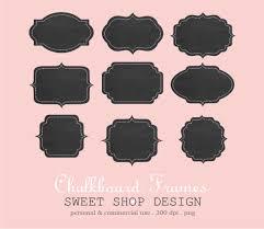Chalkboard Clip Art, Label Or Tag Clip Art, Frames Clip Art, Royalty ...