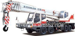 Qy50d531 Zoomlion Full Hydraulic Mobile Truck Crane