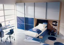 modern bedroom for boys. View In Gallery Stylish Modern Boys\u0027 Bedroom Blue And Grey For Boys I