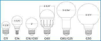 G30 Bulb Size Chart Christmas Light Bulb Sizes Jenessere Com