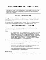What A Good Resume Looks Like Examples Of A Good Resume Lovely Tips For Good Resumes Templates 68
