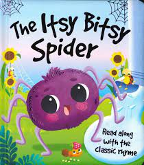 The Itsy Bitsy Spider (Board Book) - Books By The Bushel, LLC.