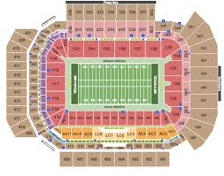 Lsu Seating Chart With Rows Kyle Field Seating Chart Kyle Field College Station Texas