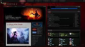 dota 2 start here the first game the hud