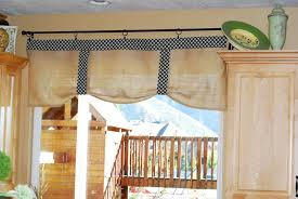 Kitchen Valances How To Make Curtain Valances Gingham Swag Valance Kitchen