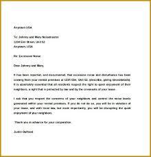 Apartment Complaint Letter Nice Apartement
