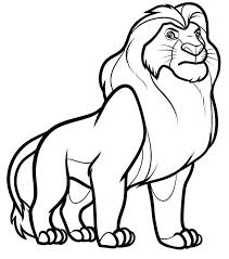 Small Picture Lion King Coloring Page Color Luna
