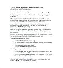 Sample Resignation Letter 2 Weeks Notice Gorgeous 4848 Weeks Notice Form Proposal Letter