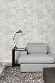 wallpaper industrial metal corrugated sheets off white