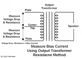 amp build measure and record the plate voltage voltage drop between the center tap both power tube plates and the resistance between the center tap both plates