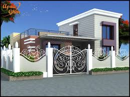 Simplex House Elevation Designs Pin By Apnaghar On Apanghar House Designs House Front
