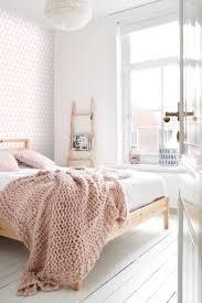 Bolcom Estahome Behang Grafische Driehoeken Licht Roze En Wit