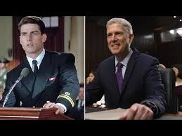 watch judge gorsuch has a tom cruise moment a few good men watch judge gorsuch has a tom cruise moment a few good men