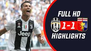 Juventus vs Genoa 1-1 — HIGHLIGHTS ...