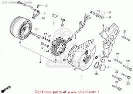 tlr200 wiring diagram wiring diagram database honda tlr200 reflex g usa california left crankcase