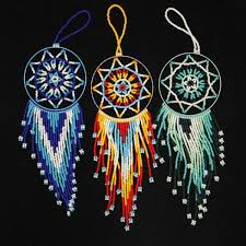 Native American Beaded Dream Catchers Unique Beading Idea Beading Pinterest Beading Ideas Dream Catchers