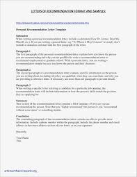Personal Character Reference Letter Template Examples Letter Templates