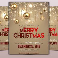 Free Christmas Flyer Templates Download Merry Christmas Flyer Template Template For Free Download On